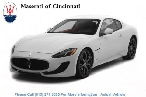 Pre-Owned 2016 Maserati GranTurismo Sport With Navigation