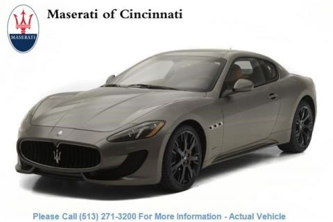 New 2016 Maserati GranTurismo Sport With Navigation